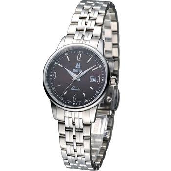 E.BOREL 依波路 雅麗系列仕女械腕錶 LS5620-8642 巧克力色