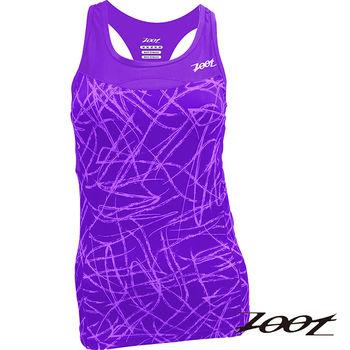 ZOOT 專業級 美背式鐵人上衣(女)(薰衣紫) Z1506009