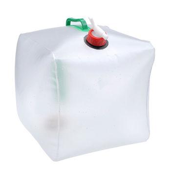 PUSH! 戶外休閒用品 20公升高拉力,強韌耐老化折疊水桶 折疊水壺