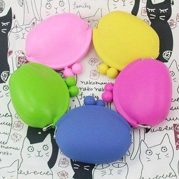 【iSPurple】糖果色調*矽膠零錢包/六色+隨機色