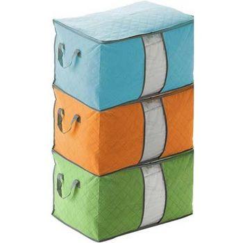 【iSFun】繽紛竹碳*棉被衣物收納袋/二色