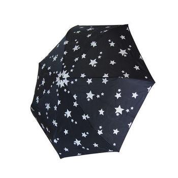 星星傘 夏夜星空 一鍵自動開收傘 雨傘陽傘洋傘抗UV傘