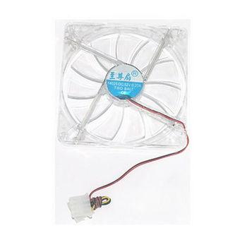 【FU】14cm x 14cm 14025藍光系統散熱風扇-大4pin(SB0205)