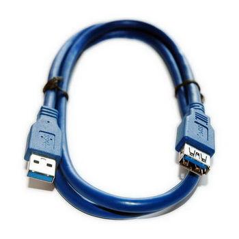 【FU】USB3.0 A公對A母智能型連接線-1公尺(SU0107)