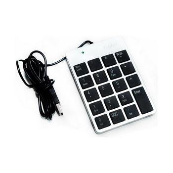 【FU】19鍵 攜帶式USB獨立式數字鍵盤(SK0119)