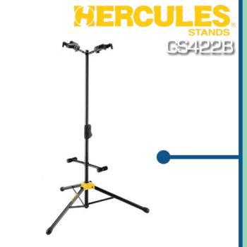 【HERCULES】雙頭展示吉他架-公司貨保固 (GS422B)