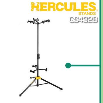【HERCULES】三頭展示吉他架-公司貨保固 (GS432B)
