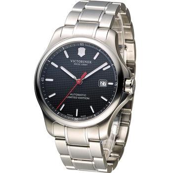 Victorinox 維氏 130週年紀念限量機械錶套組 VISA-249083.1 黑