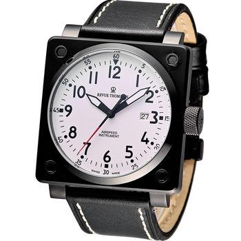 Revue Thommen 超級領航者飛行機械錶 16576.2573 黑