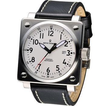 Revue Thommen 超級領航者飛行機械錶 16576.2133 白x黑