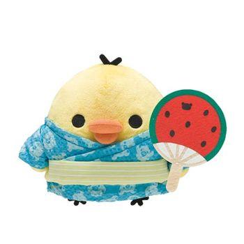 San-X 拉拉熊夏日暑假系列毛絨公仔 小雞