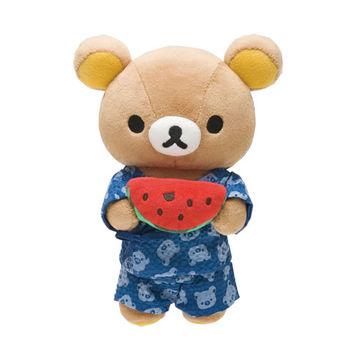 San-X 拉拉熊夏日暑假系列毛絨公仔 懶熊