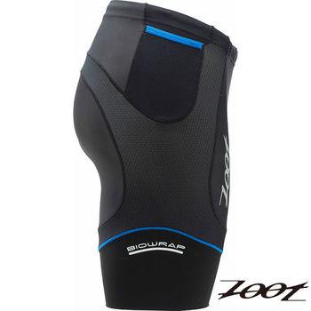 ZOOT 專業級8吋肌能鐵人短褲(黑/寶藍)(男) Z1506030