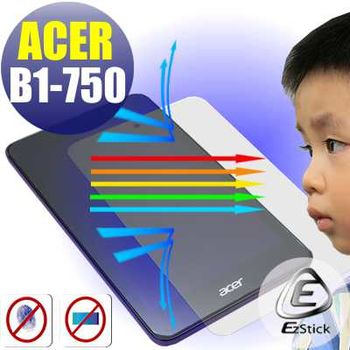 【EZstick】ACER Iconia One 7 B1-750 專用 防藍光護眼鏡面 靜電式平板LCD液晶螢幕貼(贈CCD貼)