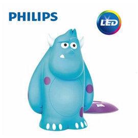 【Philips飛利浦】迪士尼魔法燈- LED可攜式床邊燈-毛怪71705/83