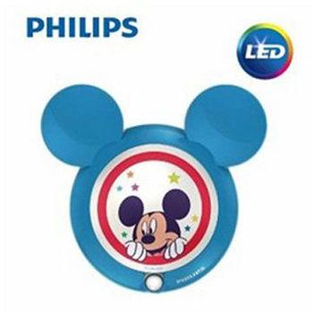 【Philips飛利浦】迪士尼魔法燈-LED感應式夜燈-米奇71766/30