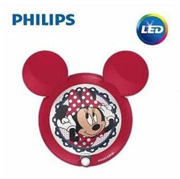 【Philips飛利浦】迪士尼魔法燈-LED感應式夜燈-米妮71766/31