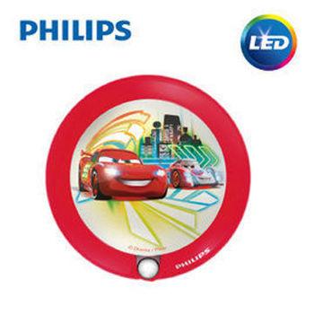 【Philips飛利浦】迪士尼魔法燈-LED感應式夜燈-汽車總動員71765/32