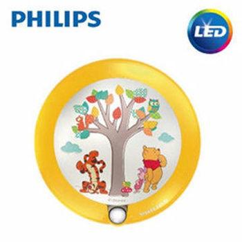 【Philips飛利浦】迪士尼魔法燈-LED感應式夜燈-小熊維尼71765/34