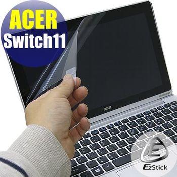 【EZstick】ACER Switch 11 SW5-171  專用 靜電式平板LCD液晶螢幕貼 (鏡面防汙螢幕貼)