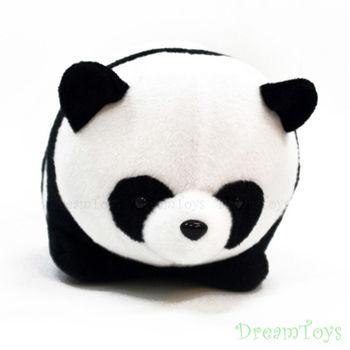 仔仔熊貓絨毛玩偶/填充娃娃-2入1組