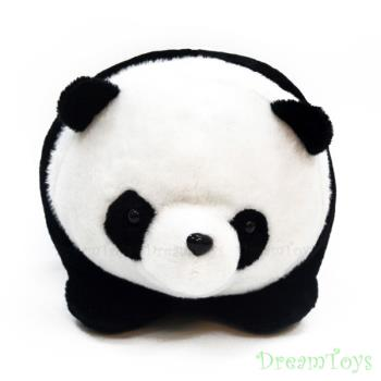 台灣製造-元元熊貓絨毛玩偶/填充娃娃
