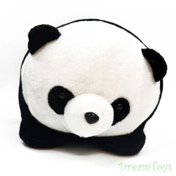 台灣製造-喜喜熊貓絨毛玩偶/填充娃娃