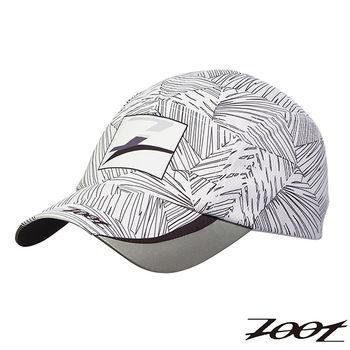 2015 ZOOT 頂級極致型COOLMAX反光型運動跑帽(棕梠白) Z1502005