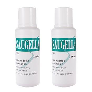 Saugella賽吉兒 菁萃潔浴凝露-加強型 (250ml) 二入組