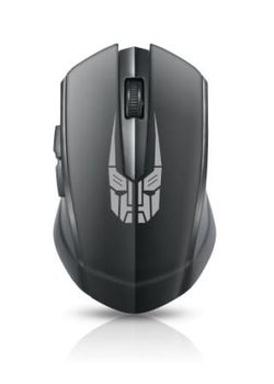 文鎧 2.4G無線鋼鐵鼠 黑