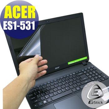【EZstick】ACER Aspire E15 ES1-531 專用 靜電式筆電LCD液晶螢幕貼 (鏡面螢幕貼)