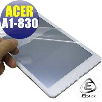【EZstick】ACER ICONIA A1-830 7.9吋 專用 靜電式平板LCD液晶螢幕貼 (高清霧面螢幕貼)
