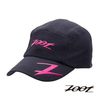 ZOOT COOLMAX 運動跑帽 運動帽 慢跑帽 帽子(黑桃紅) Z0223351