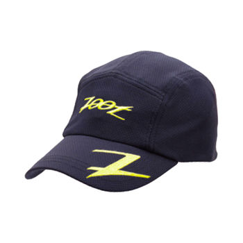 ZOOT COOLMAX 運動跑帽 運動帽 慢跑帽 帽子(黑亮黃) Z0223351