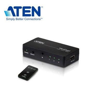 ATEN 3埠HDMI影音切換器VS381