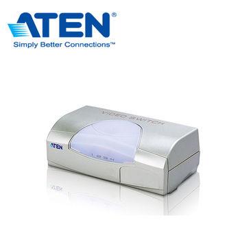ATEN  4PC對1螢幕視訊切換器 VS491