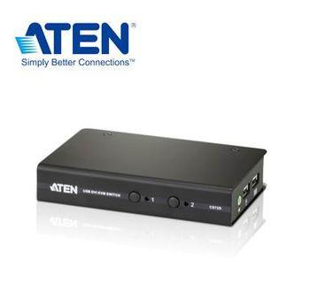 ATEN 2埠USB DVI KVM多電腦切換器 (CS72D)