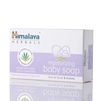 Himalaya 喜瑪拉雅 嬰兒潤膚皂  75g(5入)