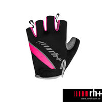 ZeroRH ^#43 義大利 女用自行車半指手套 ~黑色、黑 ^#47 粉~ ECX90
