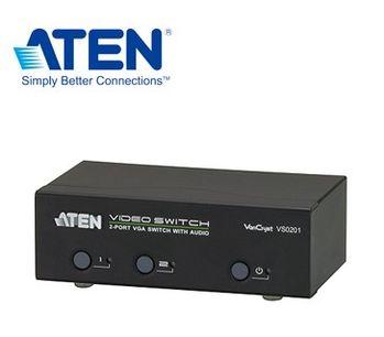 ATEN  2埠VGA切換器VS0201