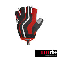 ZeroRH ^#43 義大利SPRINT 自行車半指手套 ~黑色、黑 ^#47 紅~ E