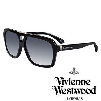 Vivienne Westwood 英國薇薇安魏斯伍德潮流個性太陽眼鏡(黑)VW88701