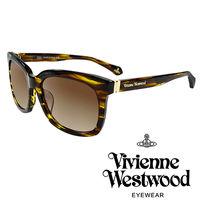 Vivienne Westwood 英國薇薇安魏斯伍德LOGO 太陽眼鏡 ^#40 琥珀黃