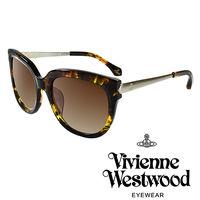 Vivienne Westwood 英國薇薇安魏斯伍德 土星銀邊太陽眼鏡 #40 琥珀黃
