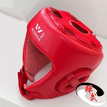 【九日山】拳擊散打泰拳專用護具配件-護頭套-M~兩色可選