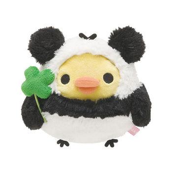 San-X 拉拉熊我愛大貓熊系列坐姿公仔 小雞