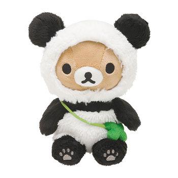 San-X 拉拉熊我愛大貓熊系列坐姿公仔 懶熊