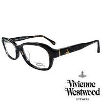 Vivienne Westwood 英國薇薇安魏斯伍德搖滾線條壓紋光學眼鏡 ^#40 咖琥