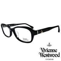 Vivienne Westwood 英國薇薇安魏斯伍德搖滾線條壓紋光學眼鏡 ^#40 黑