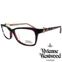 Vivienne Westwood 英國薇薇安魏斯伍德龐克土星風~側拼蕾絲光學眼鏡 ^#4